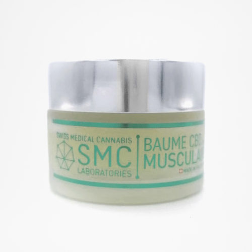 Baume musculaire CBD 150mg | SMC Laboratories