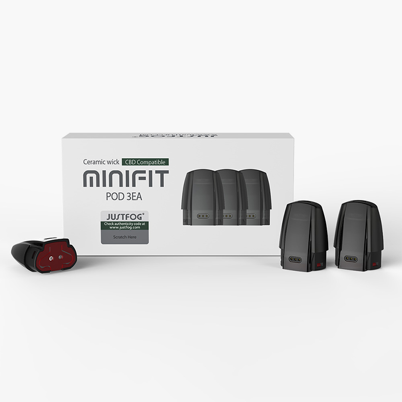 Pack 3 Pods Minifit - Justfog