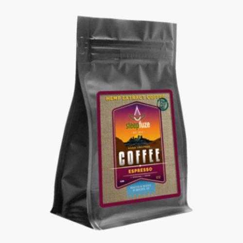 Café en grains Expresso au Chanvre CBD | Steepfuze